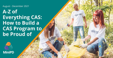 A-Z of Everything CAS: How to Build a CAS Program to be Proud of
