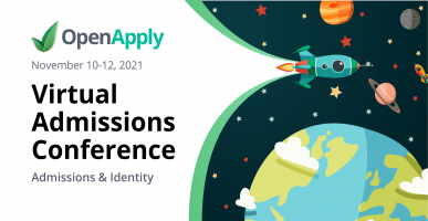 OpenApply Virtual Admissions Conference Fall 2021