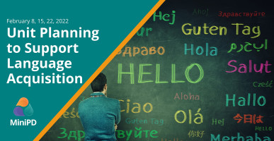 Unit Planning to Support Language Acquisition